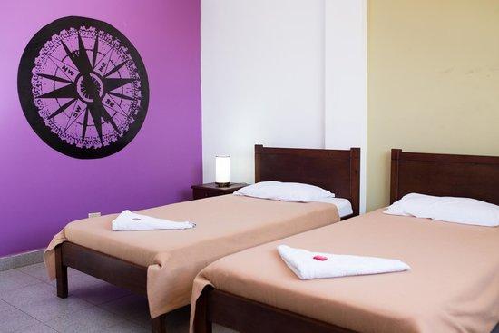 El Viajero San Andres Hostel & Suites: Twin Private Room