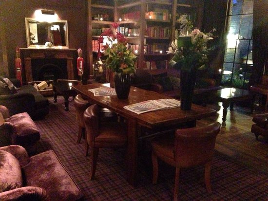 Hotel du Vin Cambridge: Lounge