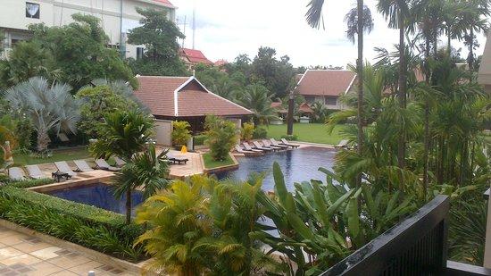 Angkor Miracle Resort & Spa : vista desde nuestra habitación