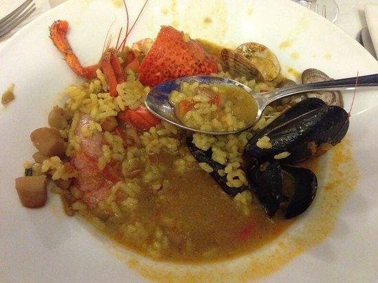 Restaurante Costa Dorada: Arroz de marisco