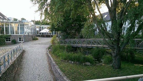 Hotel Bordehof: Innenhof