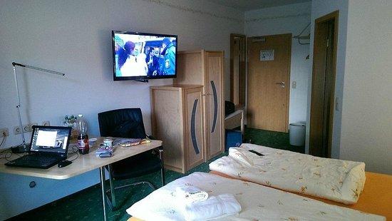 Hotel Bordehof: Zimmer Ansicht 1