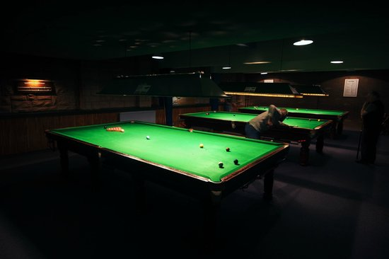 Coupar Angus, UK: Snooker Room
