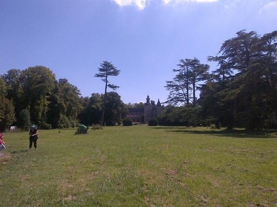 Le Chateau des Enigmes : le parc