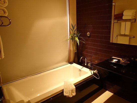 Novotel Phuket Kata Avista Resort and Spa: Bathroom with blind rolled down