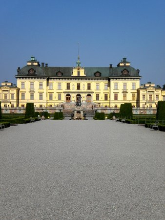 Drottningholm Palace : Palace from the rear