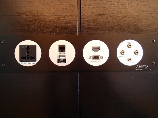 Novotel Phuket Kata Avista Resort and Spa: Various type of connectors