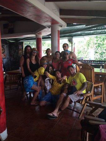 Bar Arriba: We all had a great time and loved this place.