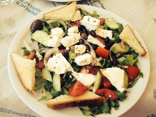 Papillon Restaurant : Delicious greek sallad.