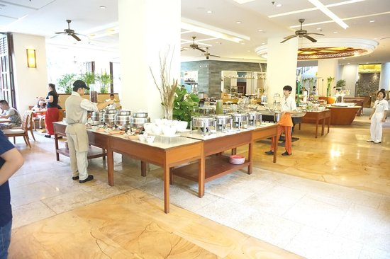 Sheraton Sanya Yalong Bay Resort : Breakfast buffet