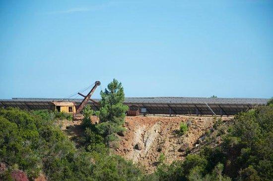 Parco Minerario dell'Isola d'Elba : gru
