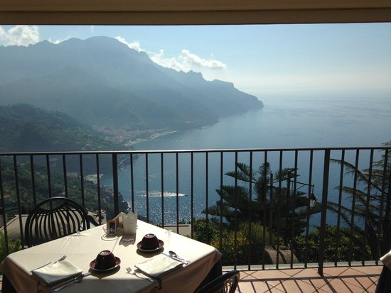 Villa Amore: where breakfast is served