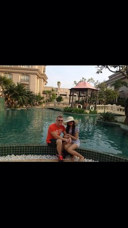 Imperial Hotel Spa: Dan and Kim December 2013