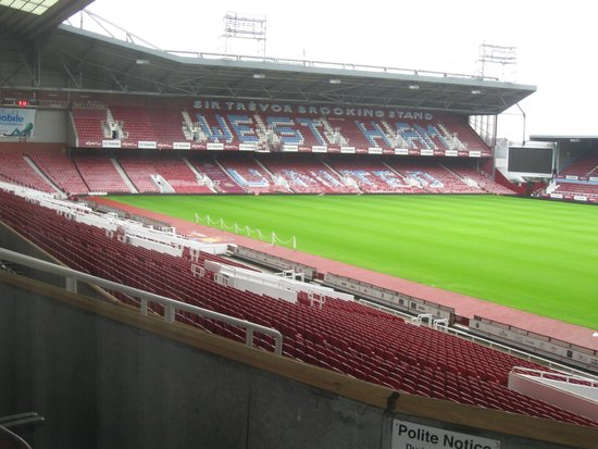 West Ham United Hotel: The view, from my room