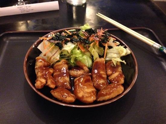 Misaki: pescado frito