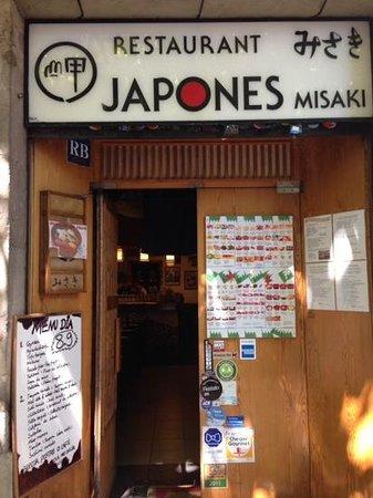Misaki: gran restaurante en un sitio pequeñito