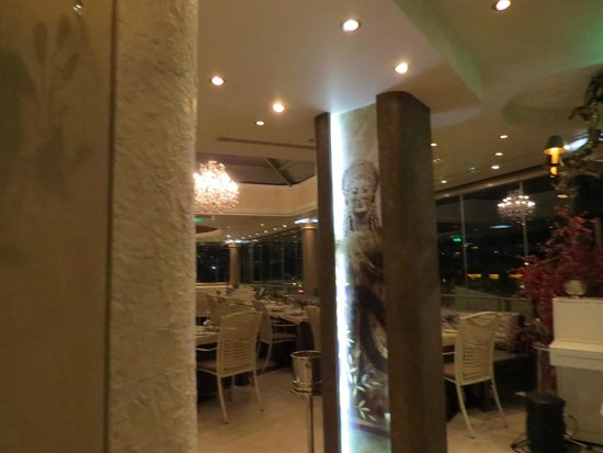 The Athenian Callirhoe Exclusive Hotel: Restaurant de la terraza
