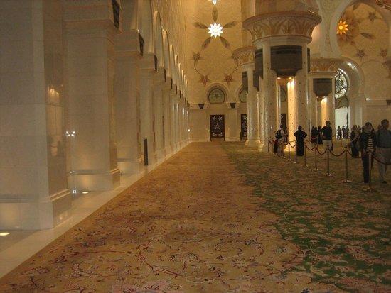 Mosquée Cheikh Zayed : Внутри
