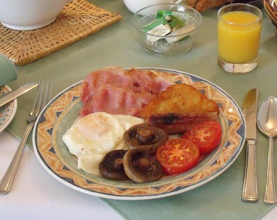 Florian Guest House : Full English Breakfast