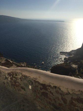 Art Maisons Luxury Santorini Hotels Aspaki & Oia Castle: Ocean view from our room.