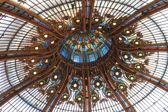 Galeries Lafayette: The dome