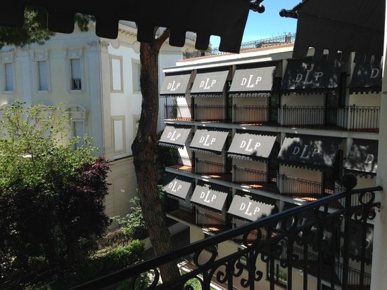 Donna Laura Palace Hotel : balcony