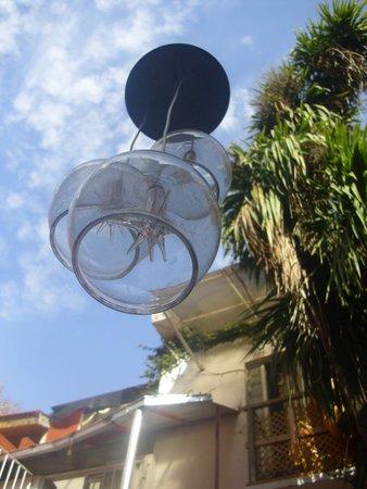MT SOHO Hostel : Patio
