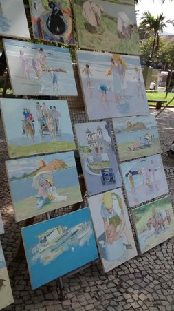 Feira Hippie de Ipanema - Obras à venda