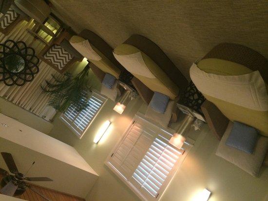 The Spa at Cheeca Lodge : Spa lounge area