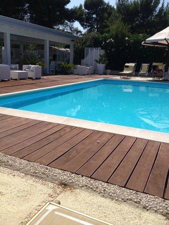 Malia Village: bella piscina