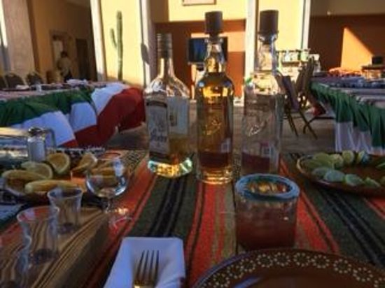 Playa Grande Resort: Tequila Tasing