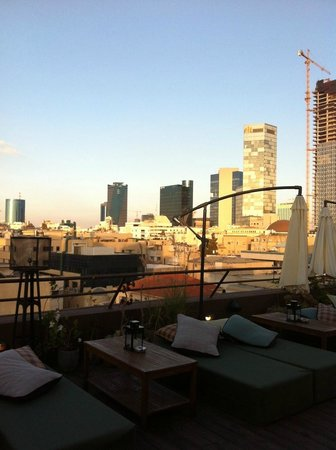 Brown TLV Urban Hotel: rooftop view