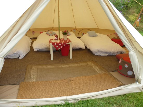 Not Just Any Tent: PERFECTION - FULL MARKS