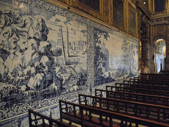 Museo Nacional del Azulejo: Fra kirkerummet