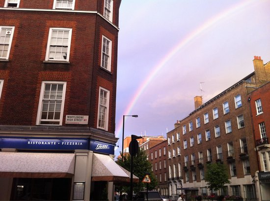 Getti Marylebone High Street: Rainbow at Getti