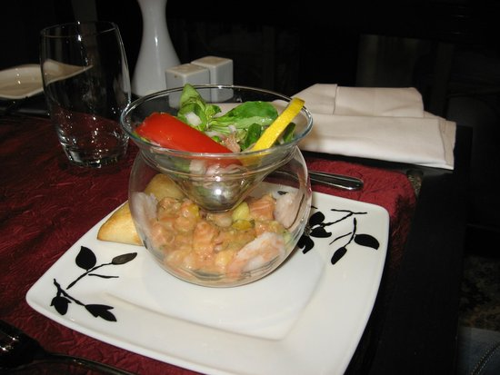 Holiday Inn Calais - Coquelles : tartare saumon