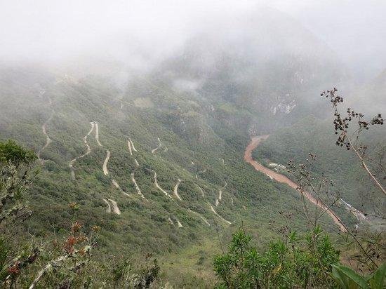 Intipuncu: 山道からの眺め