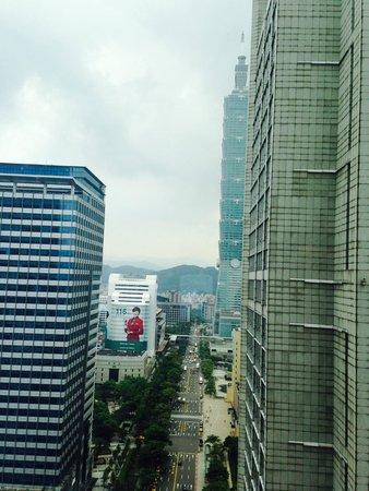 W Taipei: Partial Taipei 101 View