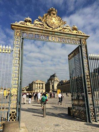 Château de Versailles : The main gate