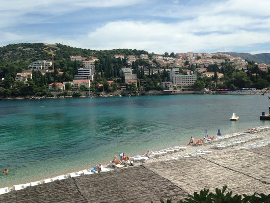 Hotel Vis: View from breakfast on the terrace!