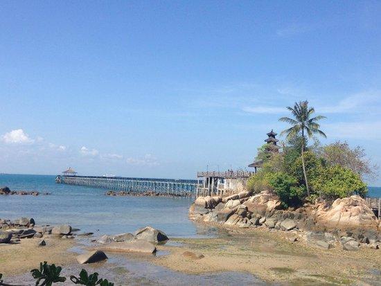 Turi Beach Resort : Boardwalk jetty