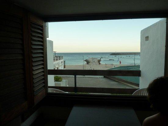 Hotel do Mar : Vista desde la habitacion 2ª planta.