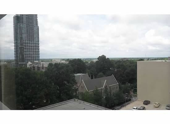 Charlotte Marriott City Center: View from the 7th floor