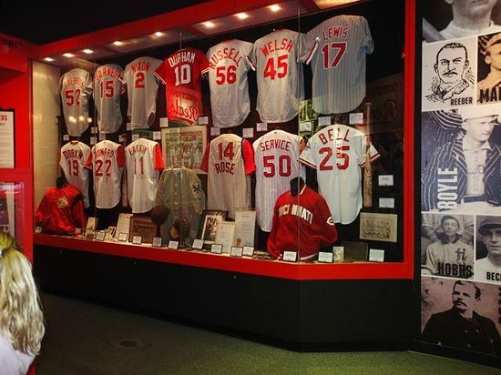 Cincinnati Reds Hall of Fame & Museum: Shirts of the greats