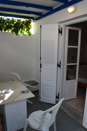 Loukia Apartments & Studios: Terrazzo