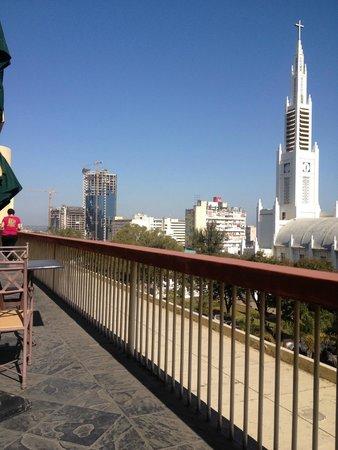 Pestana Rovuma Hotel & Conference Centre: View from the Hotel Restaurant