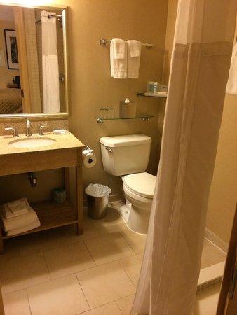 Wyndham Garden Hotel Manhattan, Chelsea West: Great clean bathroom