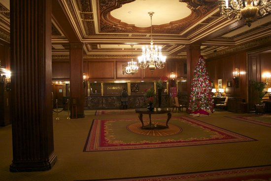 Omni Parker House: The lobby