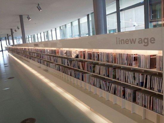 Bibliothèque centrale (Openbare Bibliotheek) : Sezione multimedia