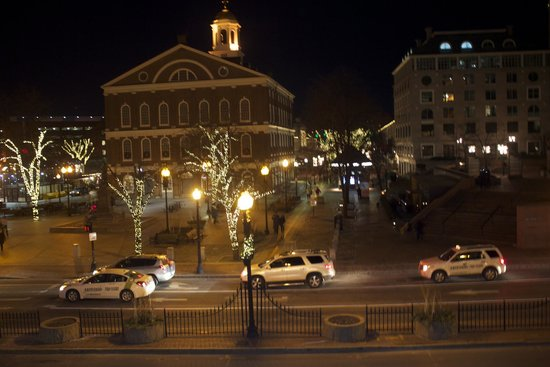 Omni Parker House: Faneuil Hall is a few blocks away